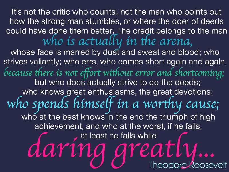 Life's about Love, Gratitude and Daring Greatly!